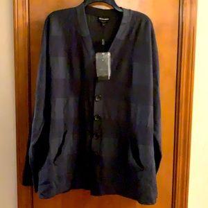 Mens Giorgio Armani light weight button up sweater